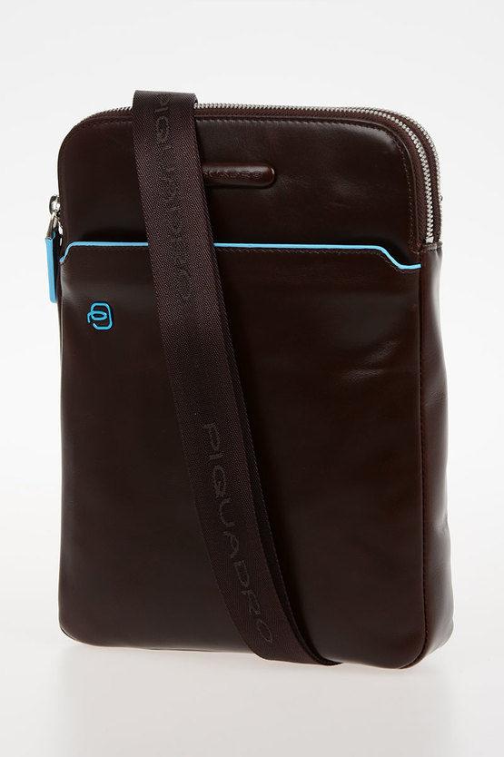BLUE SQUARE Crossbody Bag Mahogany