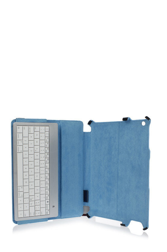 BLUE SQUARE Custodia iPad2 con tastiera bluetooth Nero