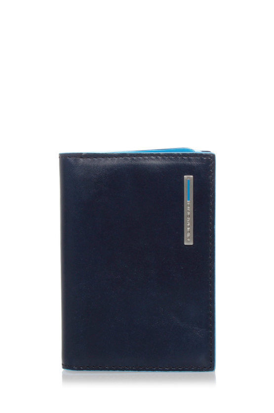 BLUE SQUARE Fan-out Credit Card Holder Blue2