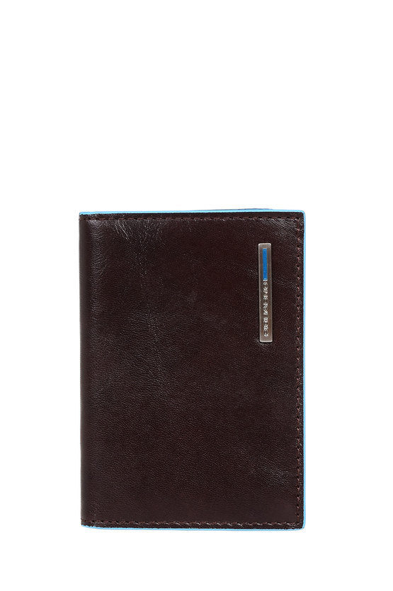 BLUE SQUARE Fan-out Credit Card Holder Mahogany