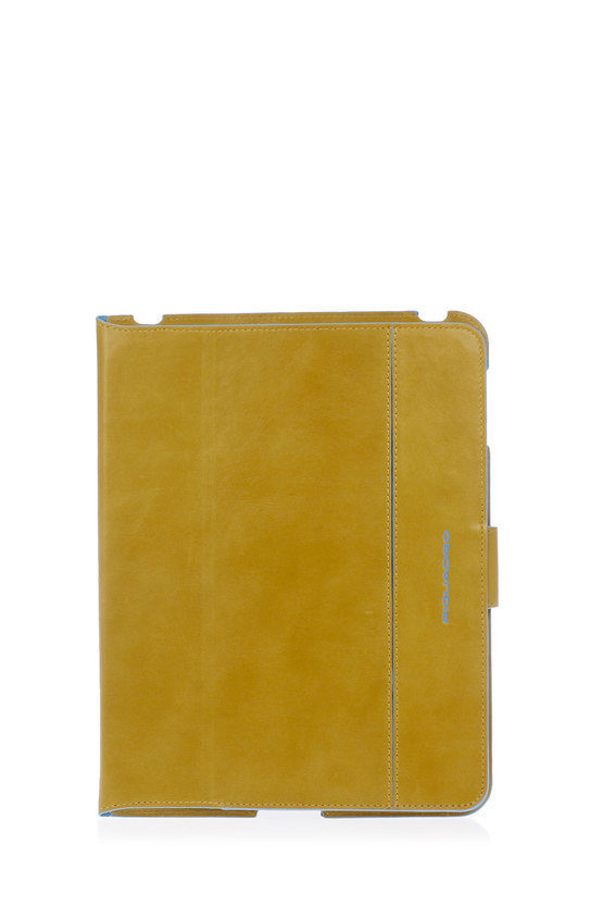 BLUE SQUARE iPad Case with Stand Yellow