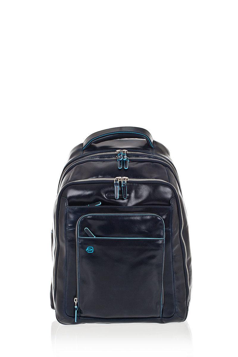 3c4d6dceed94 Piquadro BLUE SQUARE Laptop Backpack 13   Blue men - Cuoieria Shop ...
