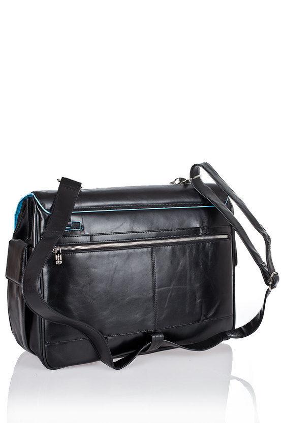 BLUE SQUARE Laptop Briefcase 15'' Black