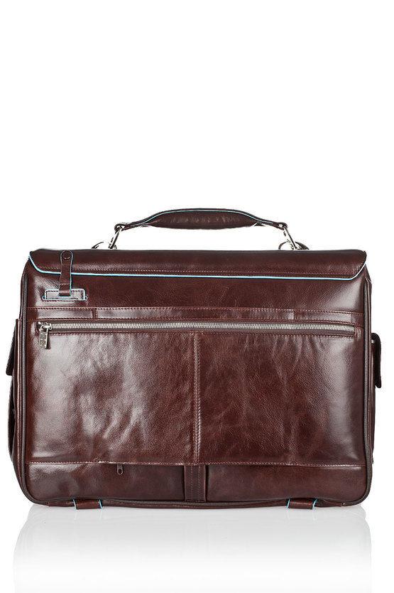 BLUE SQUARE Laptop Briefcase 15'' Mahogany