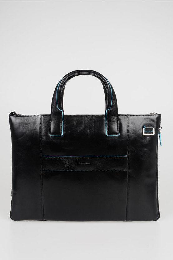 BLUE SQUARE Laptop Briefcase Black