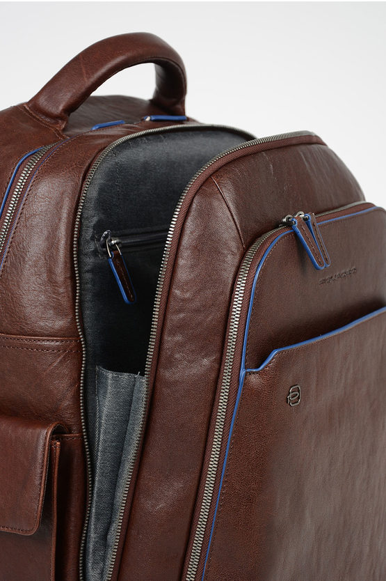 BLUE SQUARE Leather iPad®Air-iPad Pro Backpack Brown