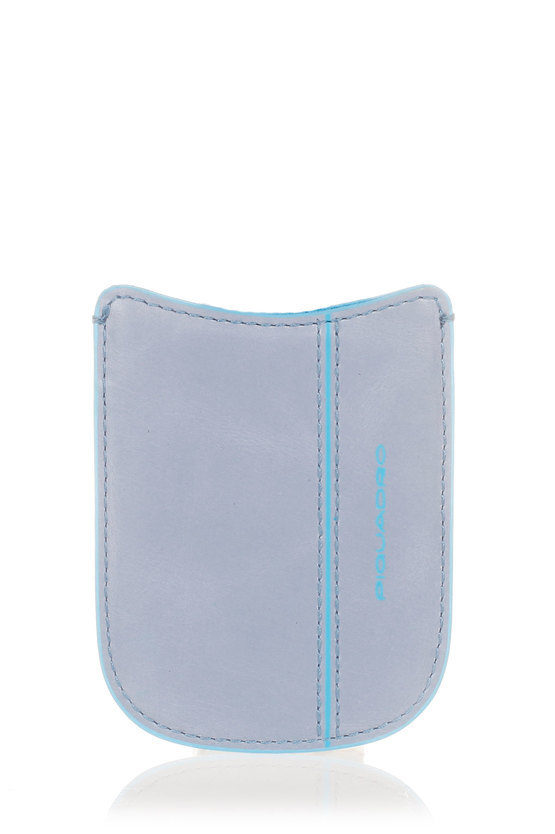 BLUE SQUARE Porta Cellulare Azzurro