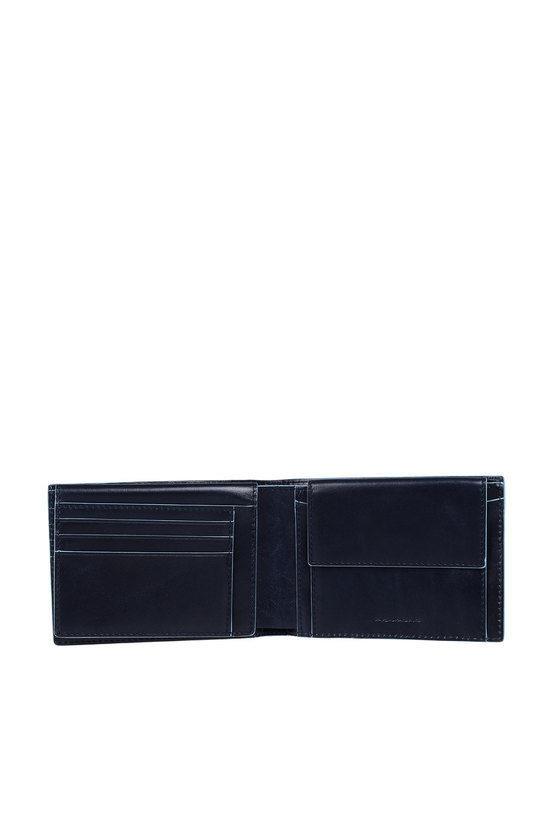 BLUE SQUARE Portafoglio con porta Documenti Blu