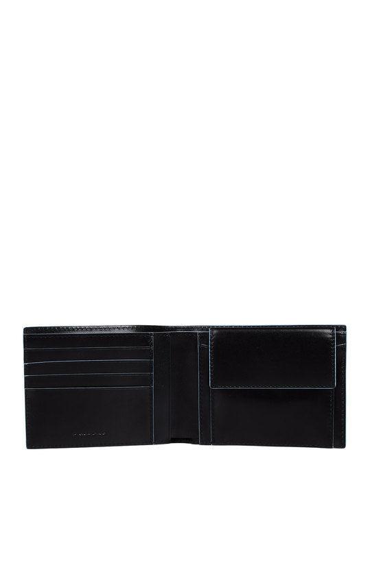 BLUE SQUARE Portafoglio con Portamonete Nero