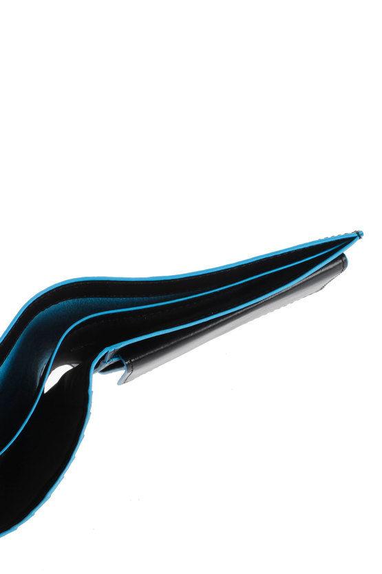 BLUE SQUARE Portafoglio Nero