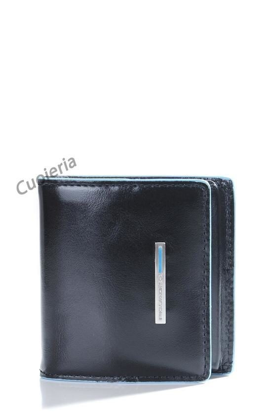 BLUE SQUARE Portamonete a Clip Nero