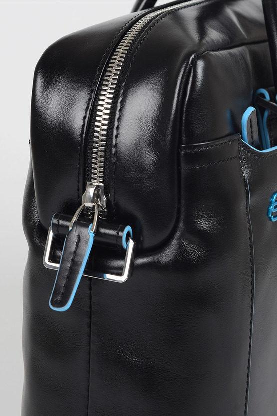 BLUE SQUARE Slim Briefcase for PC/iPad Black