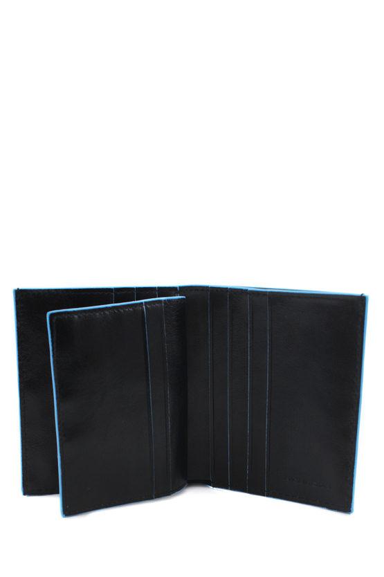 BLUE SQUARE Wallet Black