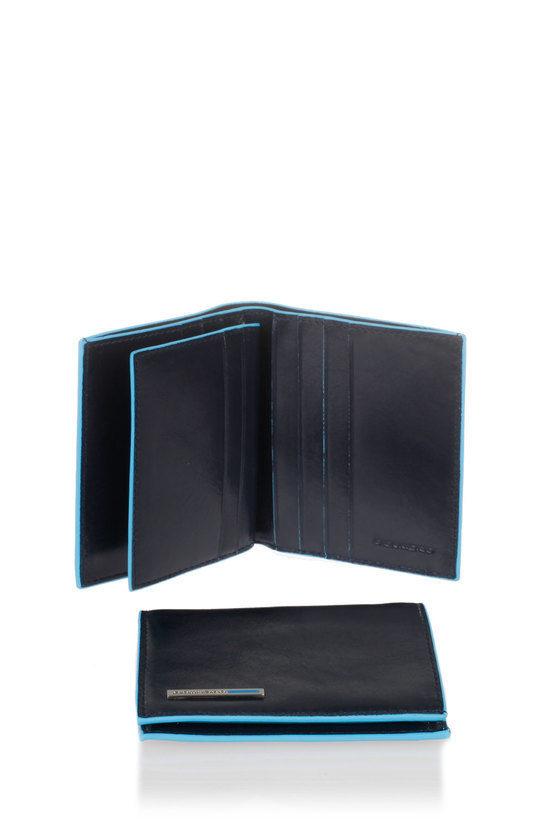 BLUE SQUARE Wallet Blue