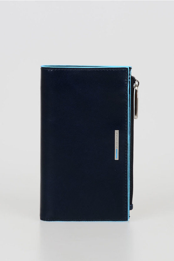 BLUE SQUARE Wallet Blue