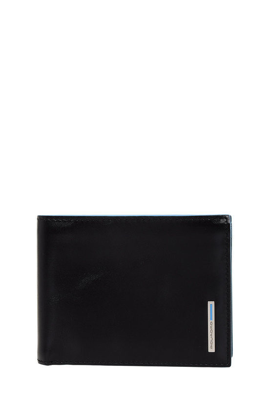 BLUE SQUARE Wallet with Coin Pocket Blue