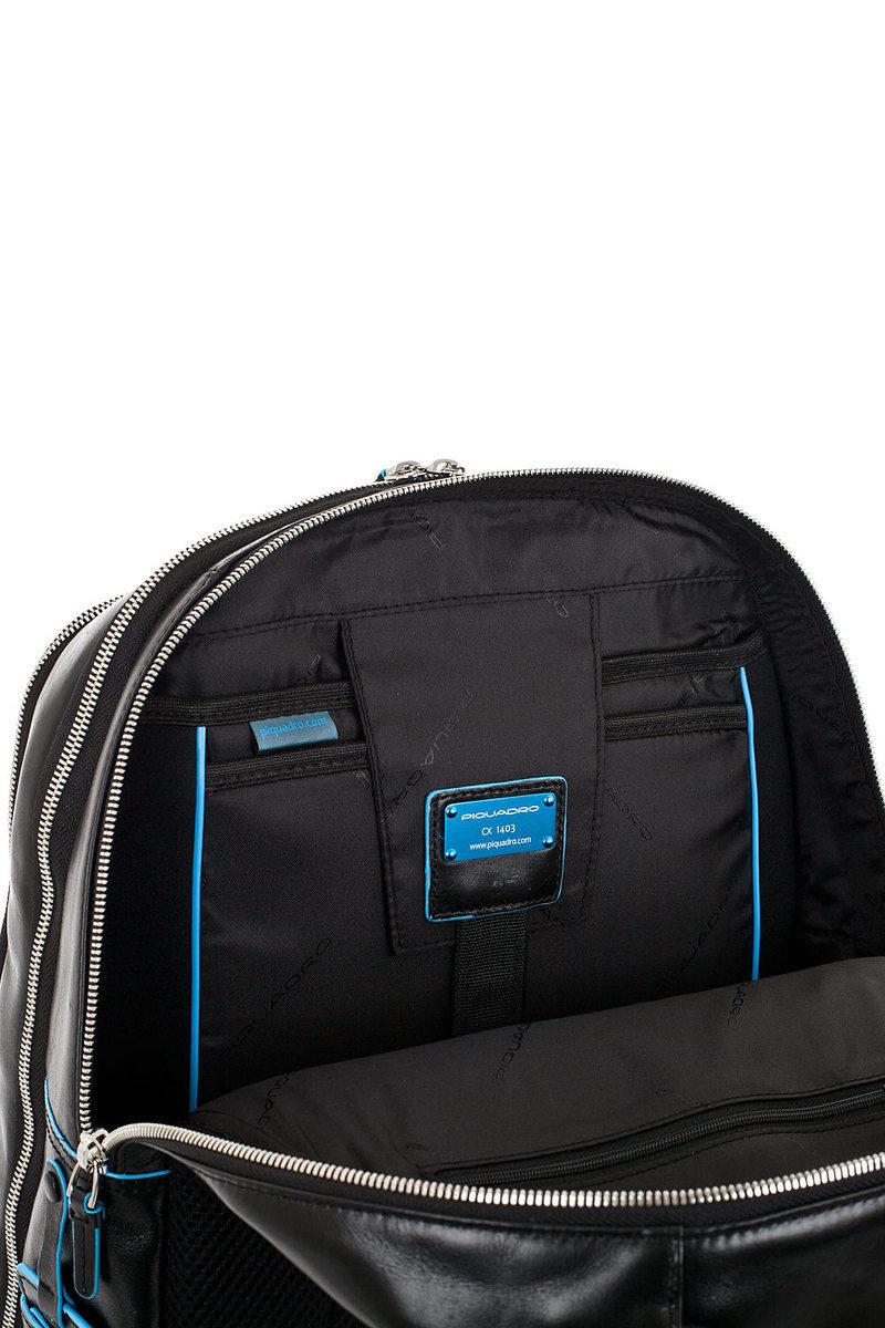 63afedde4be063 BLUE SQUARE Zaino Organizzato Nero Piquadro uomo - Cuoieria Shop On-line