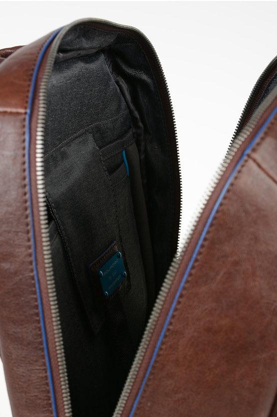"BLUE SQUARE Zaino per iPad®Air-iPad Pro 9.7/iPad 11"" in Pelle Marrone"
