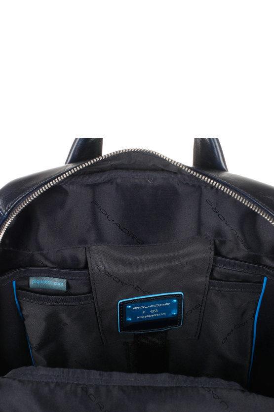 BLUE SQUARE Zaino Porta PC Blu Notte
