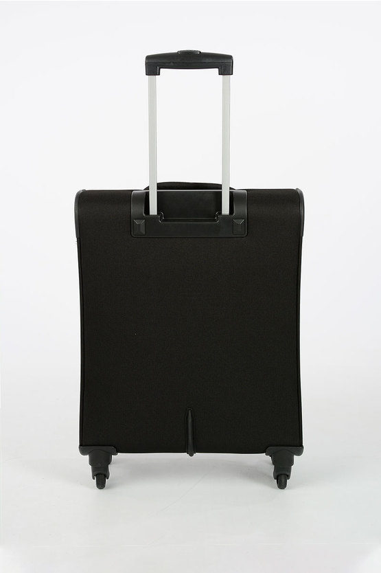 BOMBAY BEACH Trolley Cabina Soft 4R 55cm Nero
