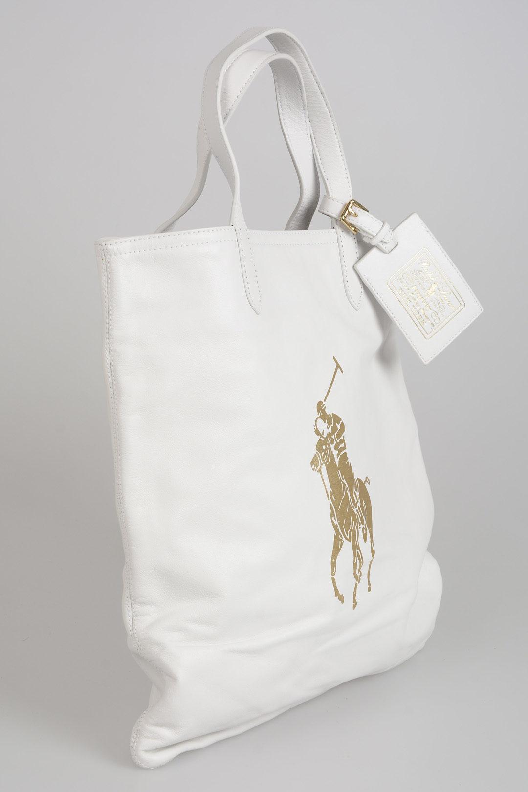 7e077ca970889 Borsa In Pelle Ralph Lauren donna - Cuoieria Shop On-line