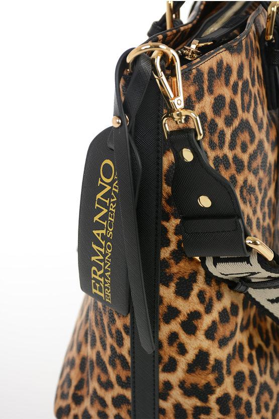 Borsa MEDIUM SHOPPER GRETA Leopardata
