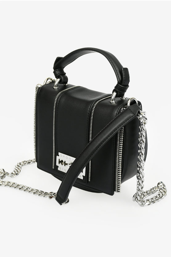 Borsa NANTHU con Zip in Ecopelle