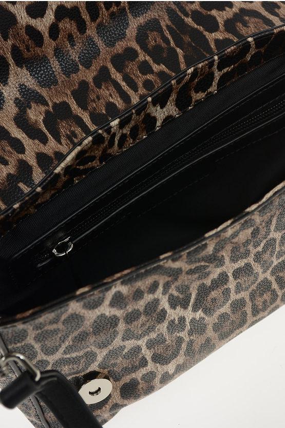 Borsa SMALL FLAP GRETA Leopardata