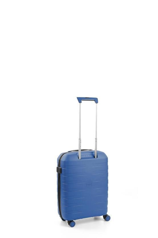BOX 2.0 Cabin Trolley 55cm 4W Blue