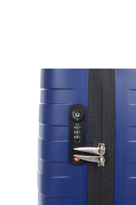 BOX Trolley Cabina 55cm 4R Blu