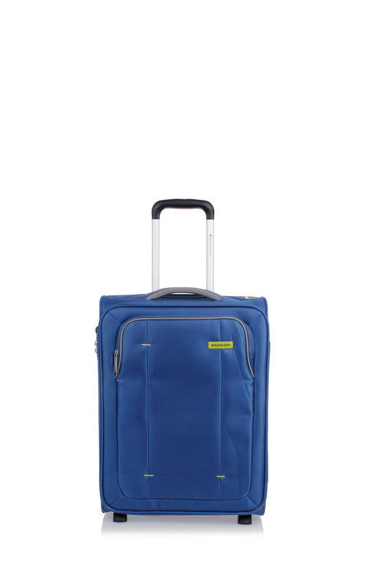 BREEZE Trolley Cabina 55cm 2R Blu Avio
