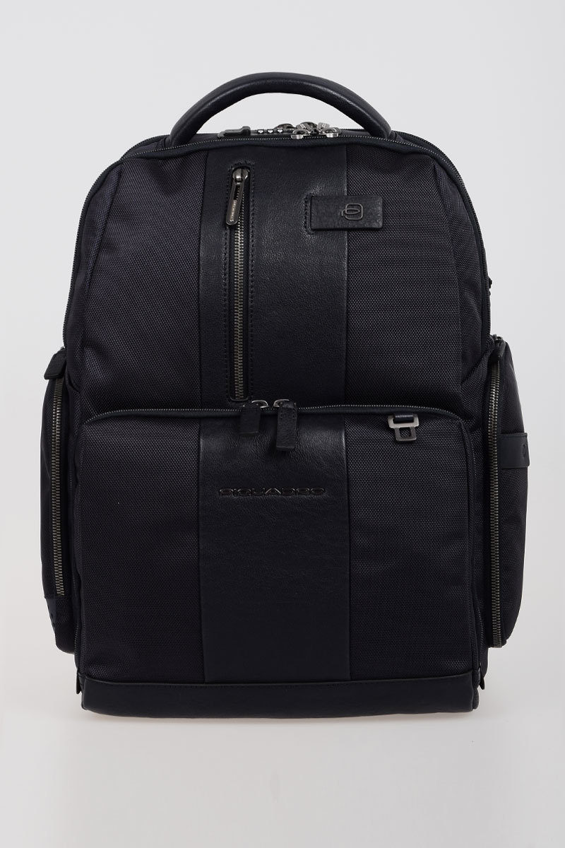 enorme sconto cac36 6a28c BRIEF Fast-check Backpack for PC/iPad Blue Piquadro men ...