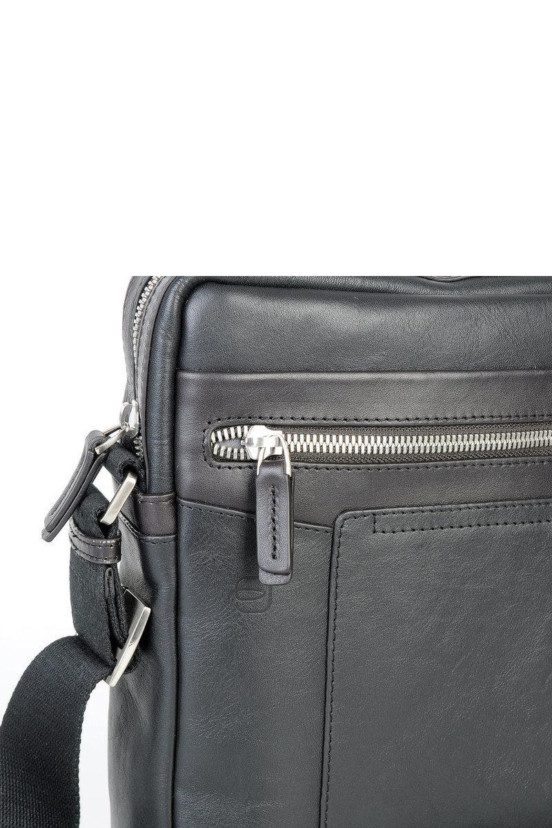 Piquadro CARY Tracolla porta iPad®Air Pro 9.7 Nero uomo - Cuoieria ... 012aaa4d0c7