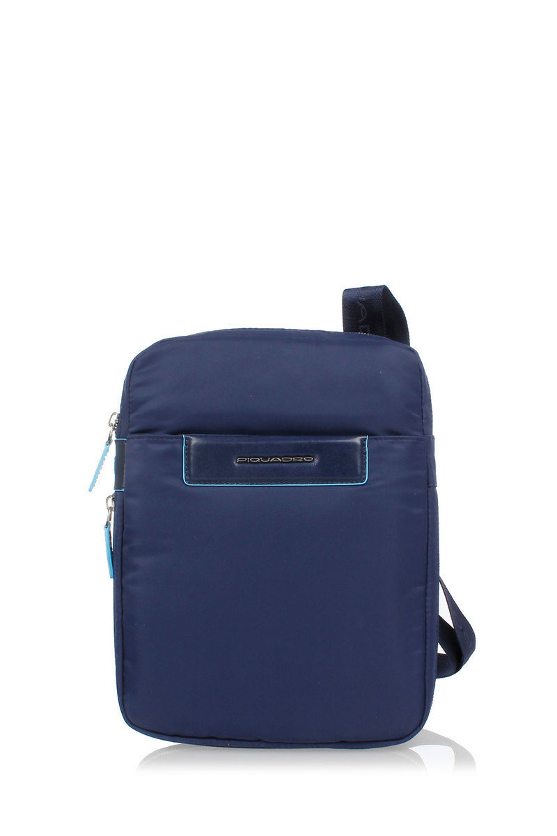 CELION Borsello Espandibile porta iPad®mini Blu Piquadro uomo ... 59f153a703f