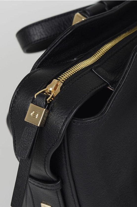 CIRCLE Shopping Bag Black