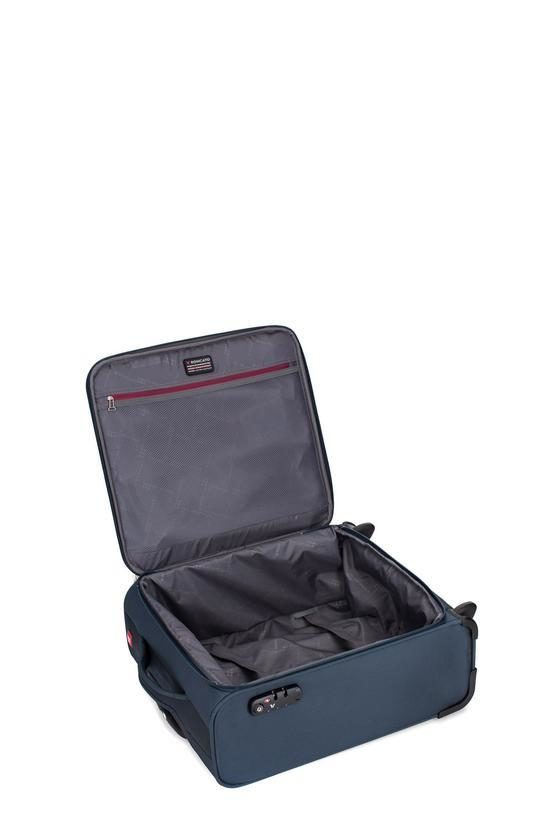 CONNECTION Trolley Cabina 50cm 2R Blu Notte