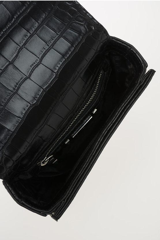 Crocodile Printed CAMIRAN Mini Bag
