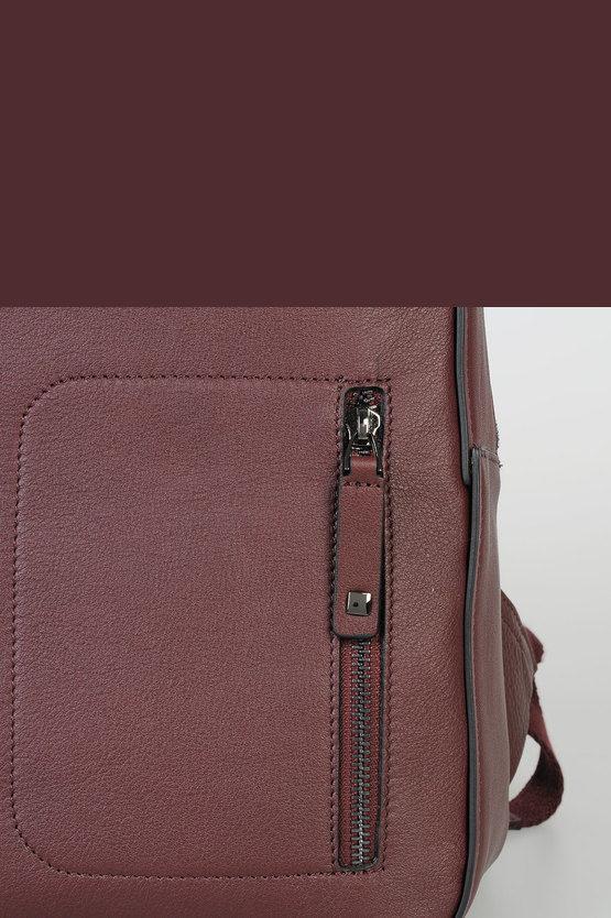 DAVID Laptop Backpack Red