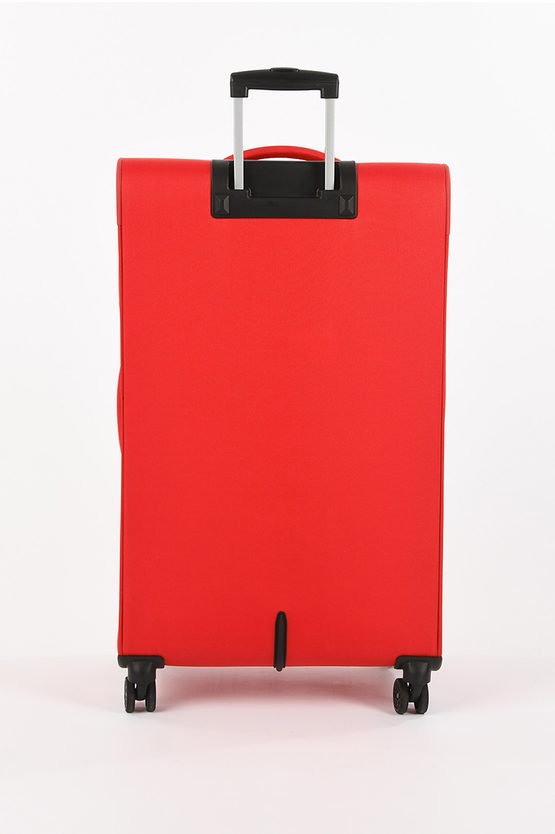 DEEP DIVE Large Trolley 78cm 4W Expandable Red/Grey