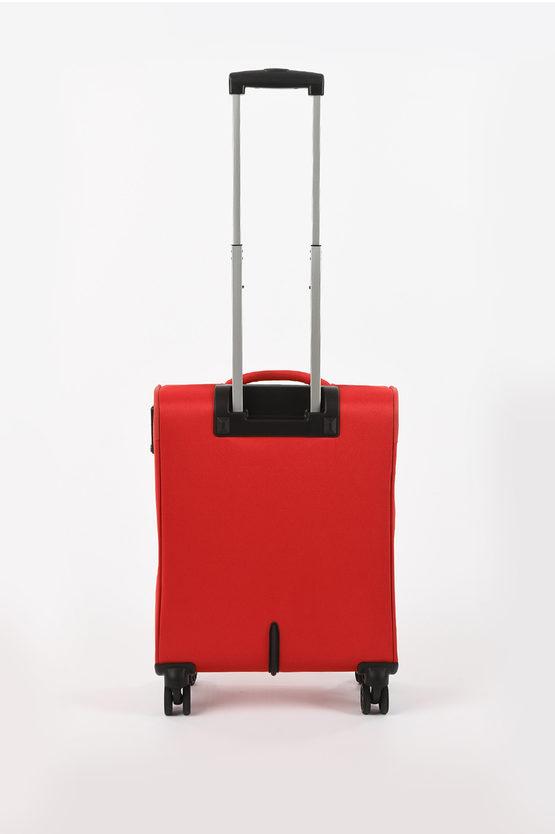 DEEP DIVE Set 3 Trolley 4R Espandibile Red/Grey