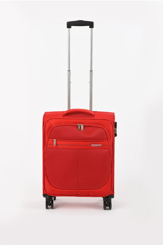 DEEP DIVE Trolley Cabina 55cm 4R Red/Grey