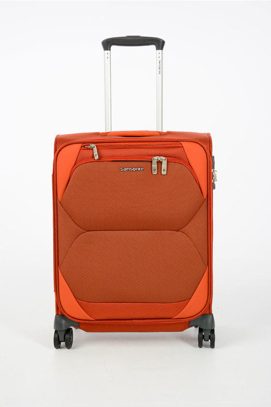 DYNAMORE Cabin Trolley 55cm 4W Burnt Orange