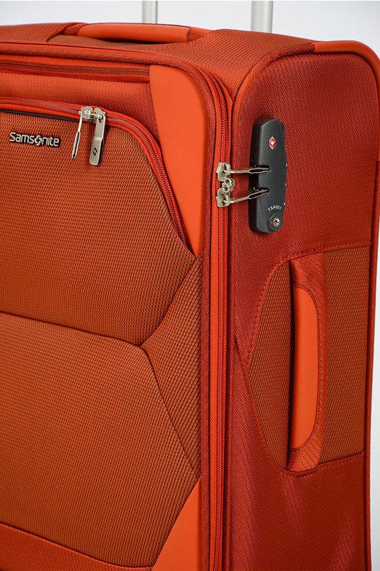 DYNAMORE Trolley Cabina 55cm 4R Arancione