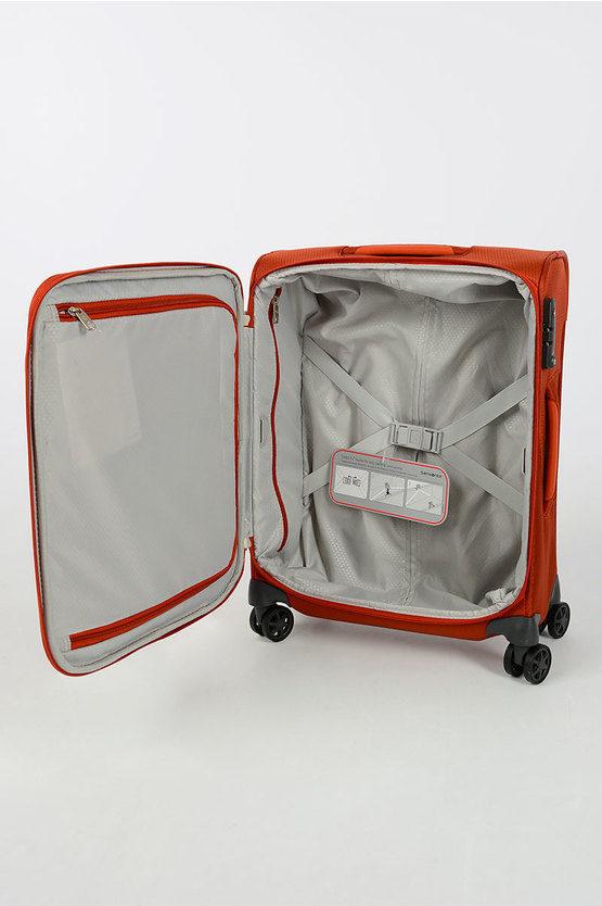 DYNAMORE Trolley Cabina Soft 55cm 4R Arancione