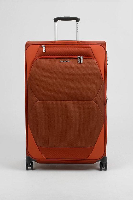 DYNAMORE Trolley Grande 78cm 4R Espandibile Arancio