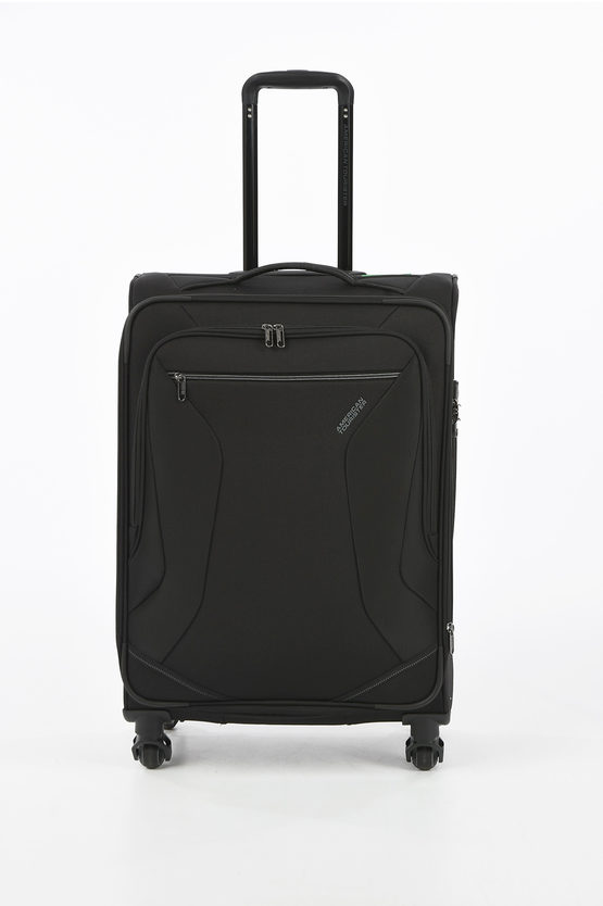 ECO WANDERER Medium Trolley 67cm 4W Expandable Black