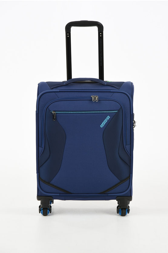 ECO WANDERER Trolley Cabina 55cm 4R Navy
