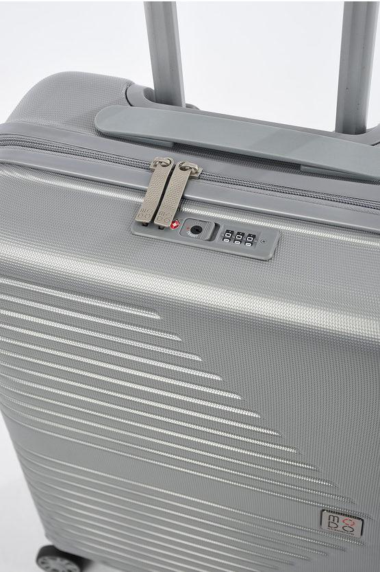 ELECTRA Cabin Trolley 55cm 4W Silver