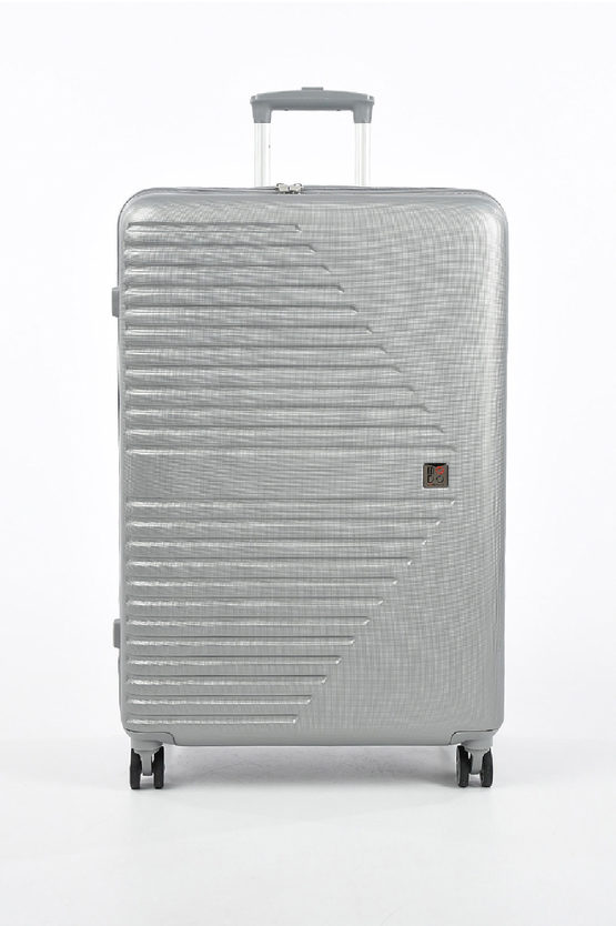 ELECTRA Large Trolley 76cm 4W Expandable Silver