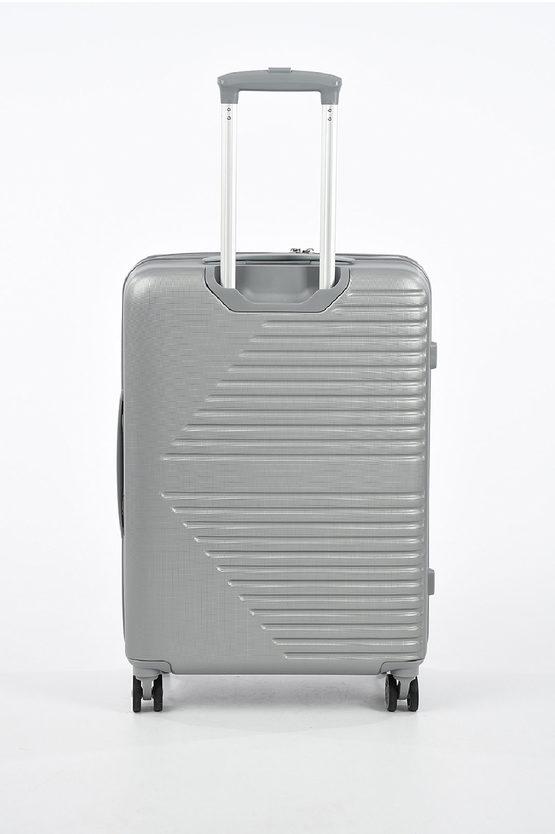 ELECTRA Medium Trolley 66cm 4W Expandable Silver